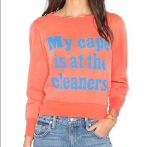 Wildfox My Cape Is At The Cleaners Sweatshirt